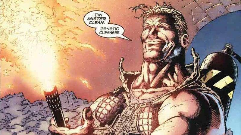 X-Men Mutant Killers Mister Clean