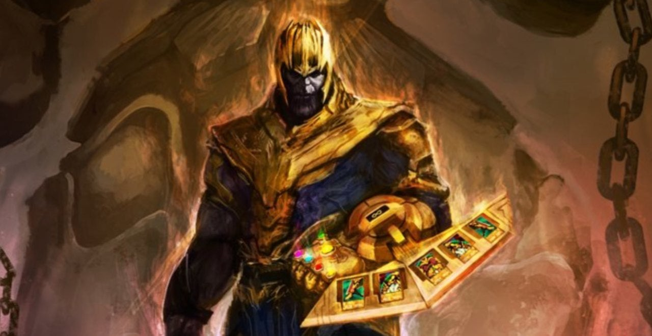 Thanos Summons Exodia in This Brilliant Yu-Gi-Oh x Avengers Crossover