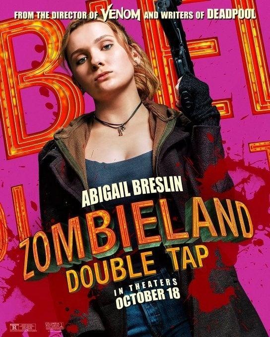 zombieland 2 poster abigail breslin