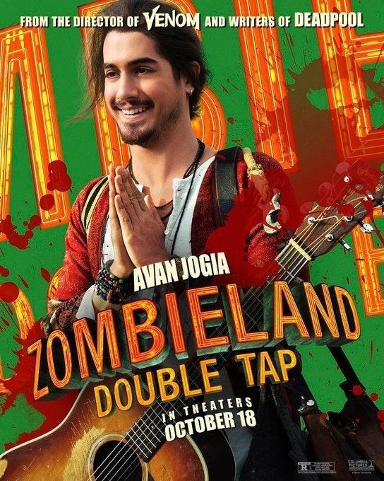 zombieland 2 poster avan jogia