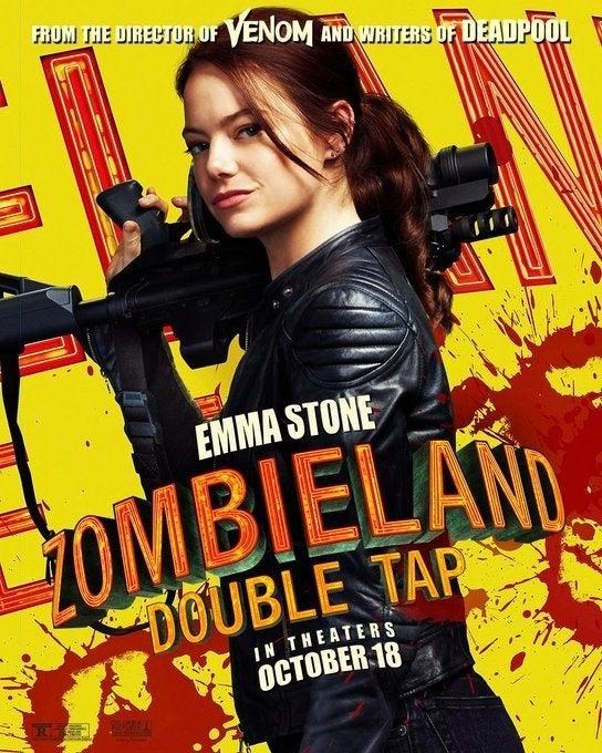 zombieland 2 poster emma stone