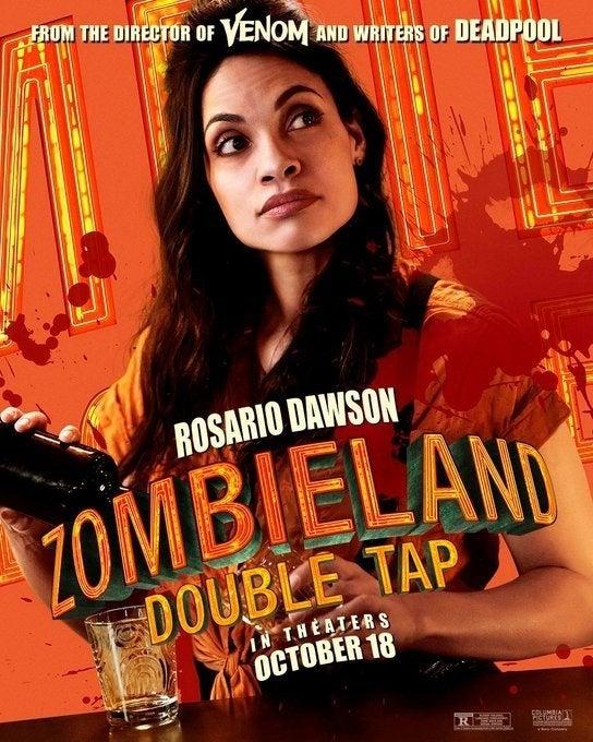 zombieland 2 poster rosario dawson