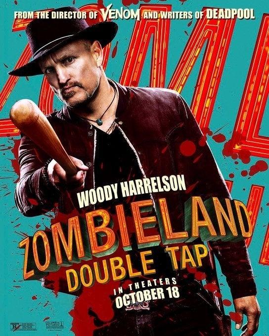 zombieland 2 poster woody harrelson