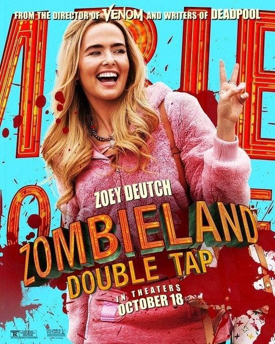 zombieland 2 poster zoey deutch