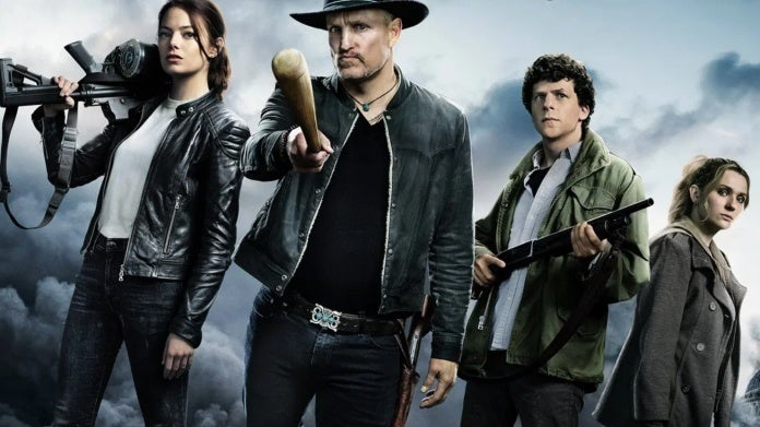 Zombieland Double Tap poster group