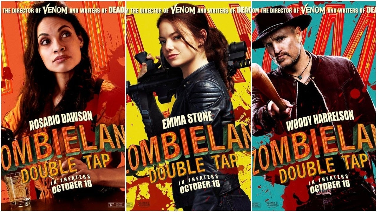 zombieland poster collage