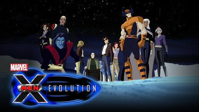 2000 X-Men Evolution