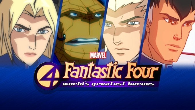 2006 Fantastic Four World's Greatest Heroes
