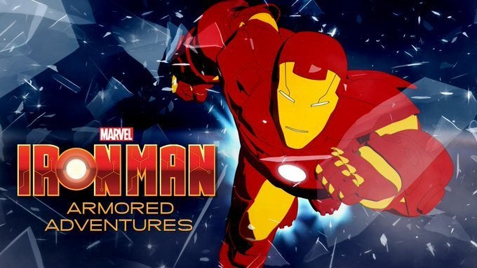 2008 Iron Man Armored Adventures