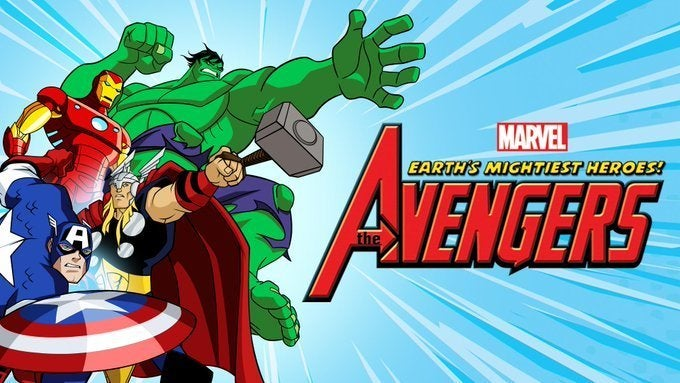 2010 The Avengers Earth's Mightiest Heroes