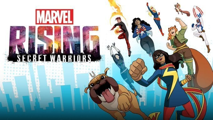 2018 Marvel Rising Secret Warriors