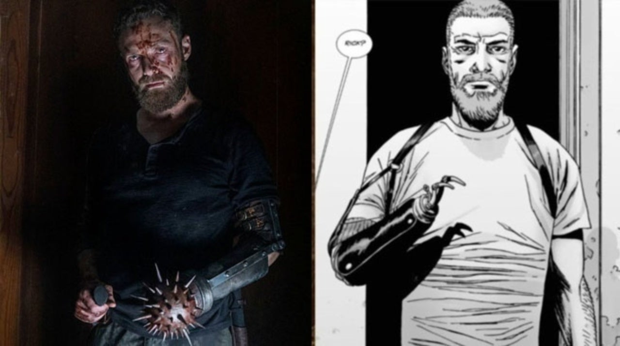 The Walking Dead's Ross Marquand on That Rick Grimes Look