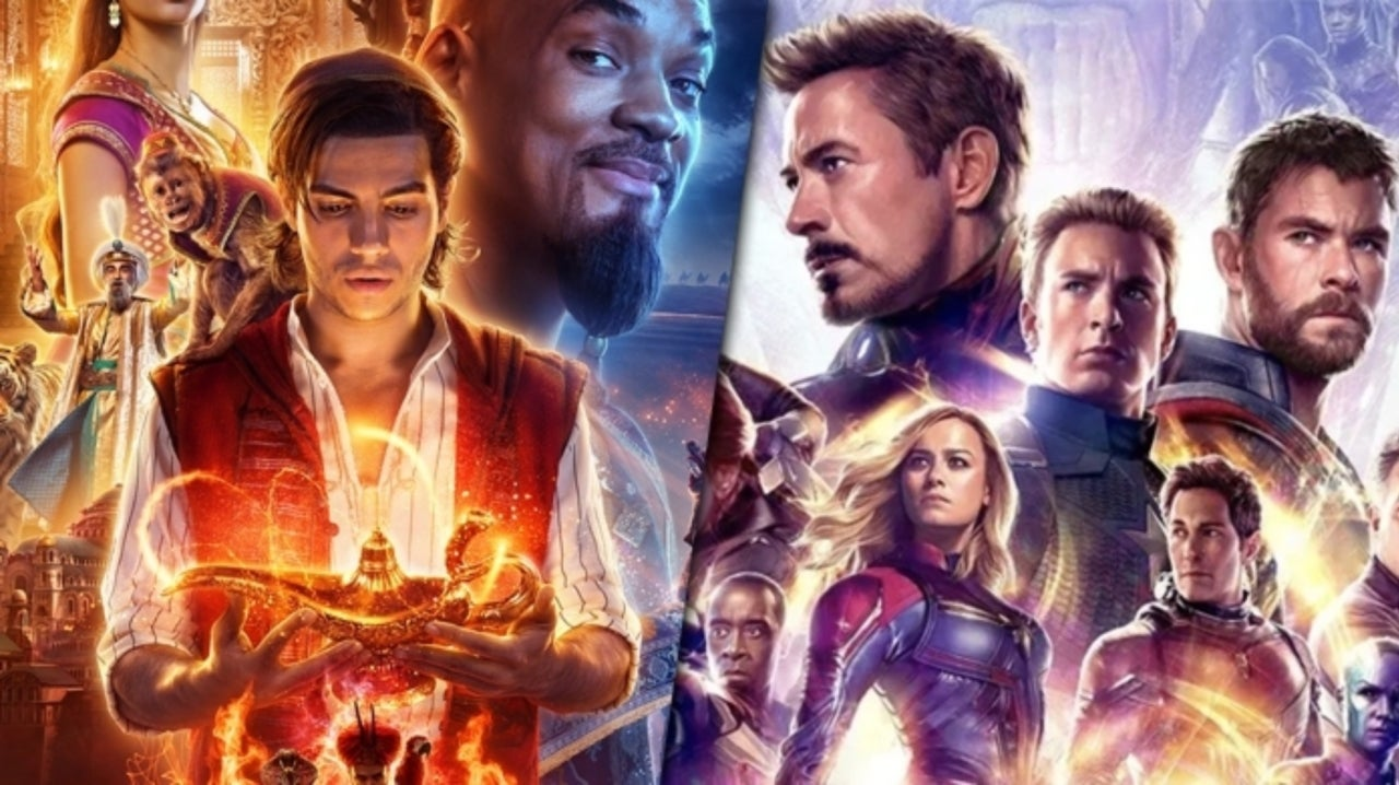 Aladdin Beats Avengers: Endgame Record