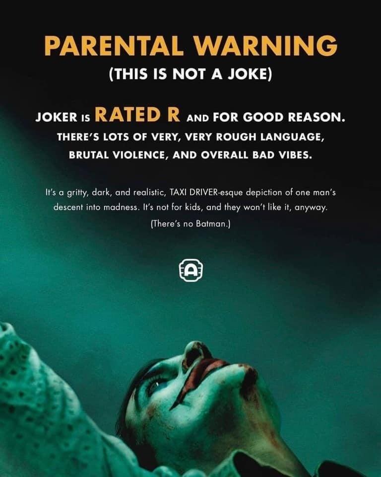 alamo drafthouse joker warning