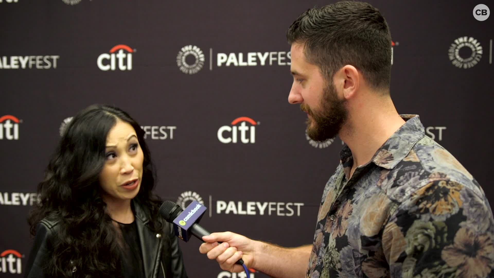 Angela Kang - NYCC 2019 Exclusive Interview screen capture