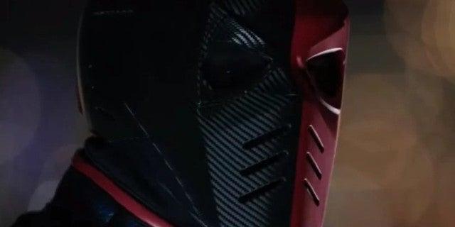 Arrow Season 8 Deathstroke Armor Red Black JJ