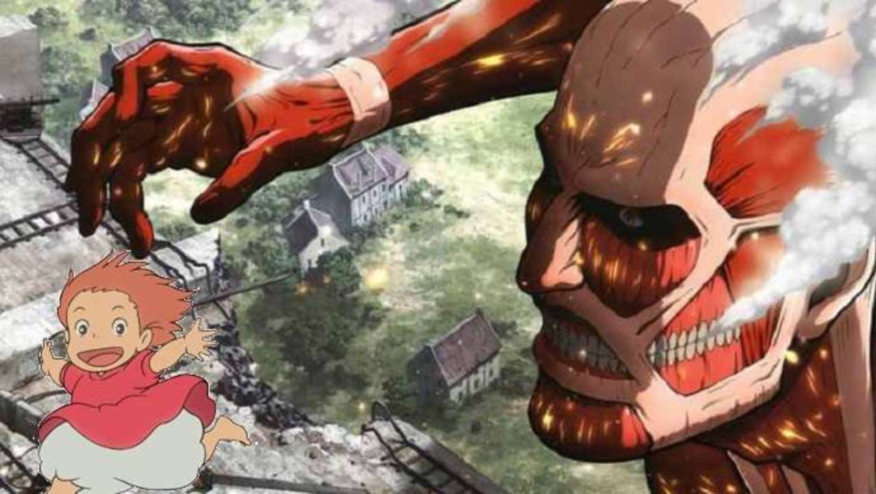 Attack On Titan Meets Studio Ghibli With This Impressive Crossover