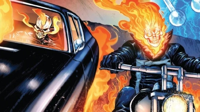 avengers 25 ghost riders