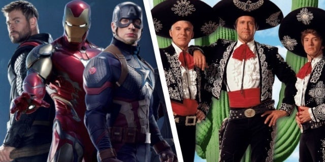 Chris Hemsworth Wants to Remake Three Amigos With Chris Evans and Robert Downey Jr.