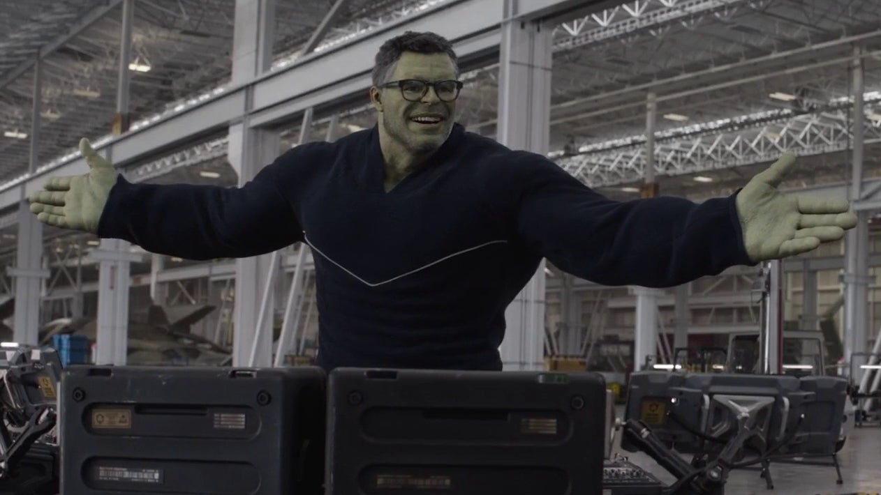 avengers endgame hulk absolute win