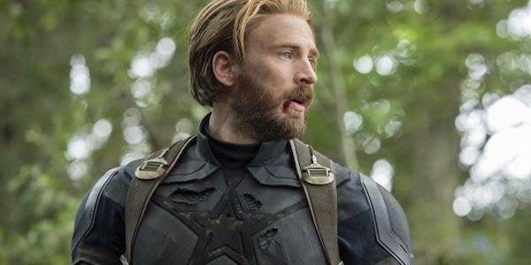 avengers infinity war captain america chris evans beard