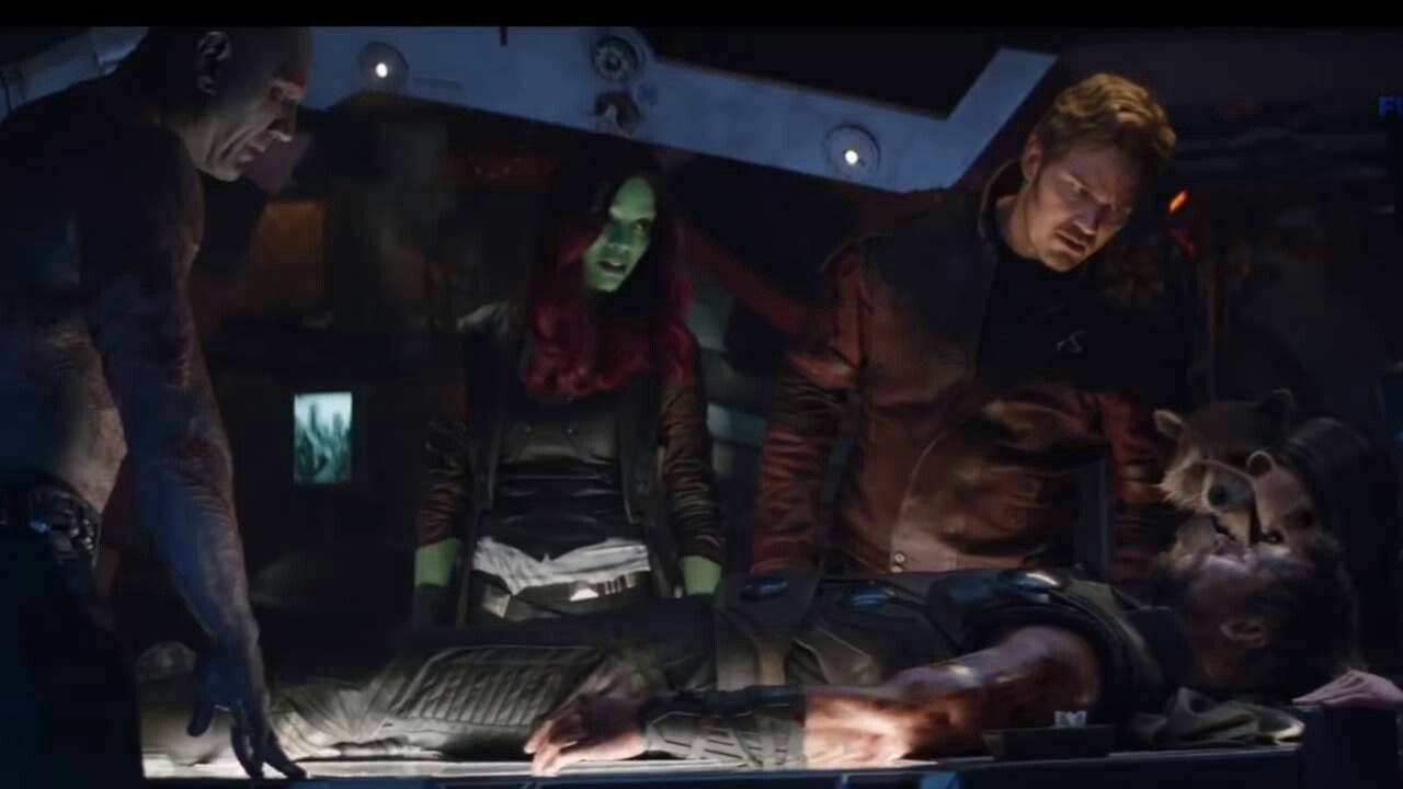 avengers infinity war guardians thor