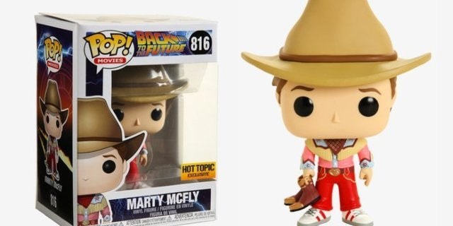 Funko's Back to the Future Cowboy Marty McFly Exclusive Pop is Available Now