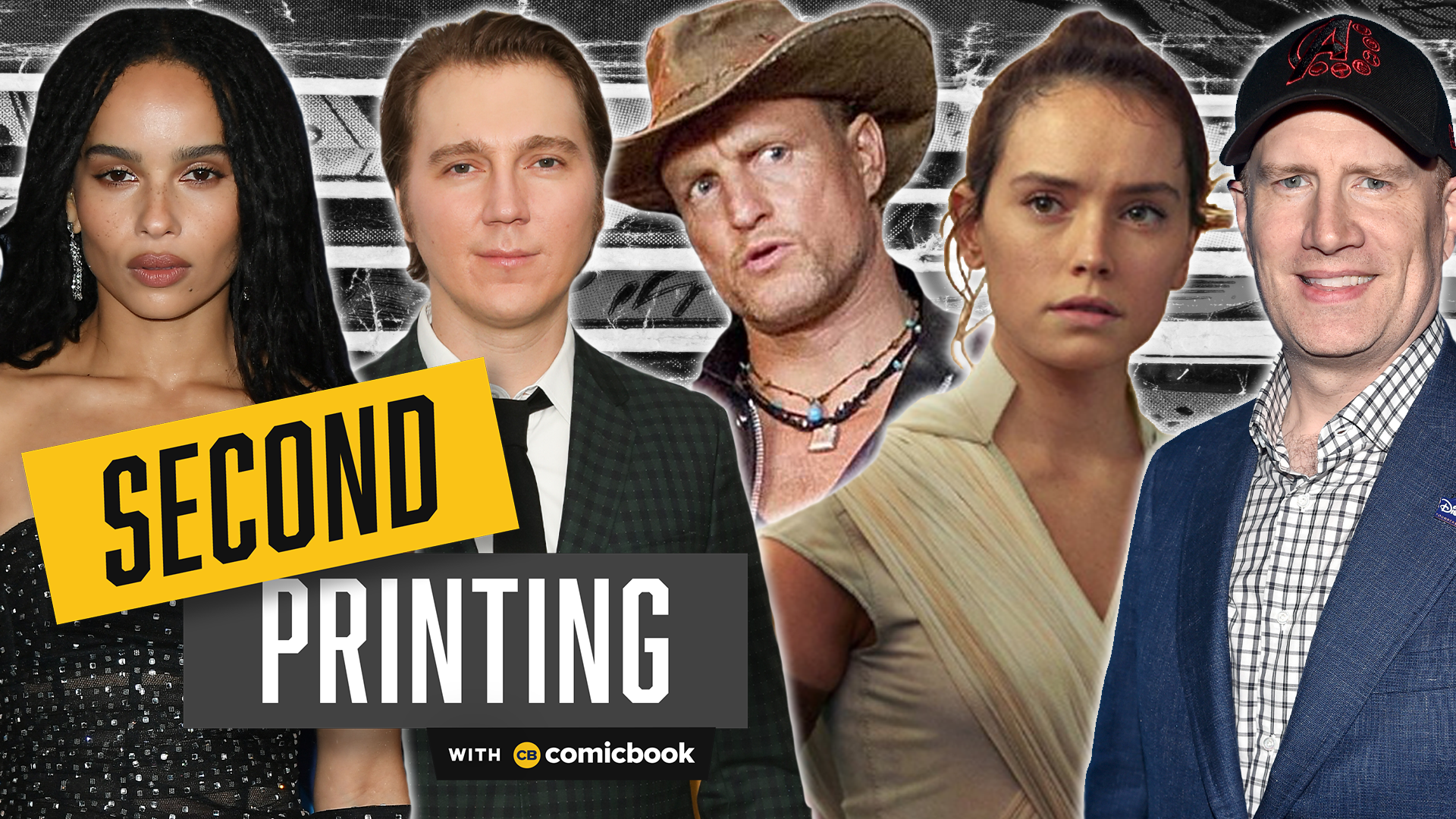 Batman Casting, Huge New Marvel Boss, and a Star Wars Trailer -- Second Printing! screen capture