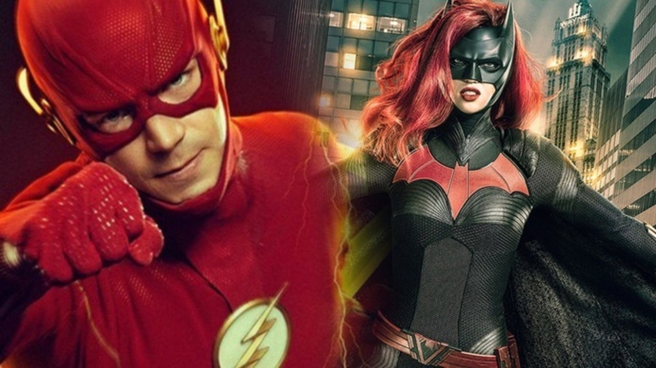The Flash and Batwoman Stars Get Cozy While Filming Crisis on Infinite Earths
