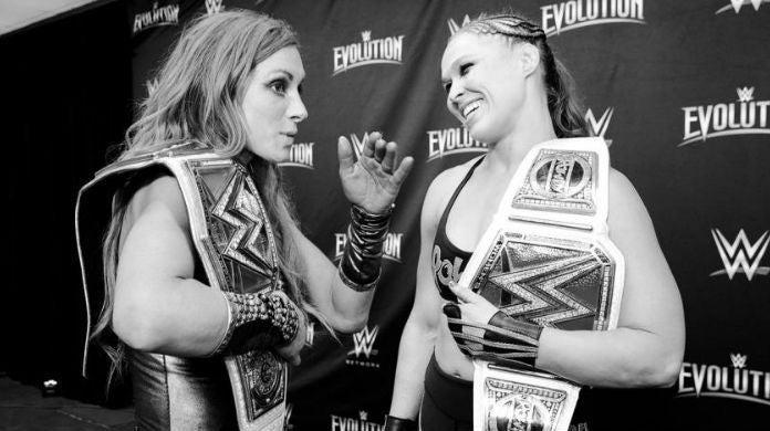 Becky-Lynch-Ronda-Rousey-Evolution
