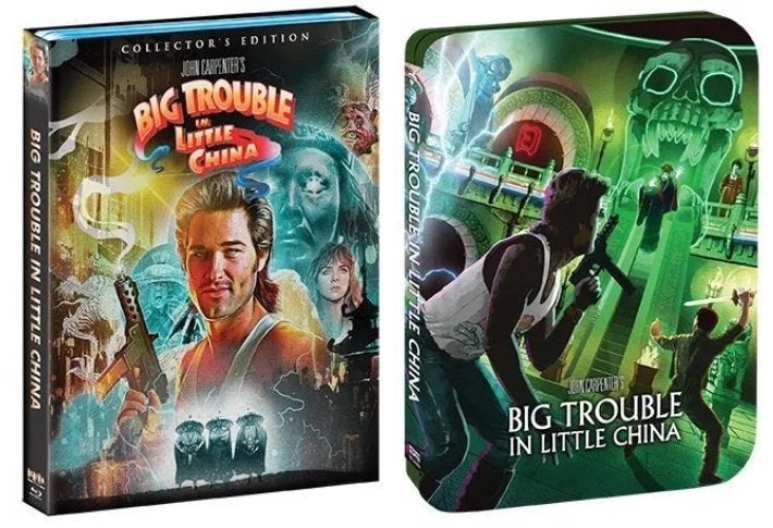 big trouble in little china blu ray scream factory