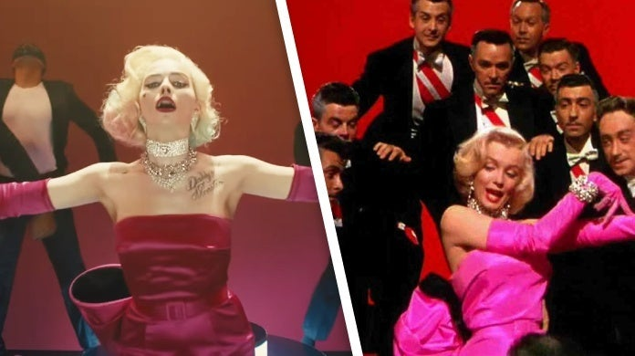 birds of prey trailer gentlemen prefer blondes