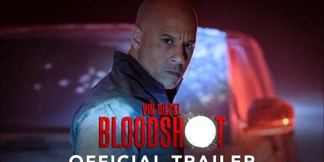 Vin Diesel's Bloodshot Trailer Released