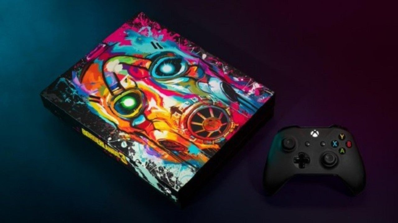 Xbox Is Giving Away One Very Colorful Borderlands 3 Console