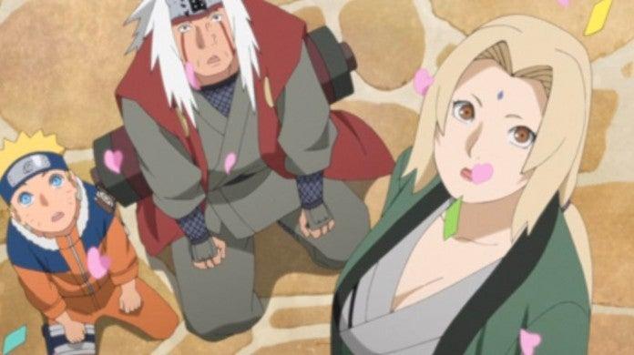 Boruto Episode 129 Naruto Jiraiya Tsunade