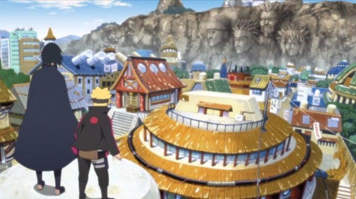 Boruto Naruto Episode 128 Sasuke Time Travel Hidden Leaf Village