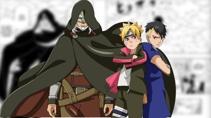 Boruto Naruto Next Generations Manga Chapter 39 New Kara Member Boro vs Boruto Kawaki