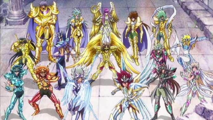 Cast of Saint Seiya