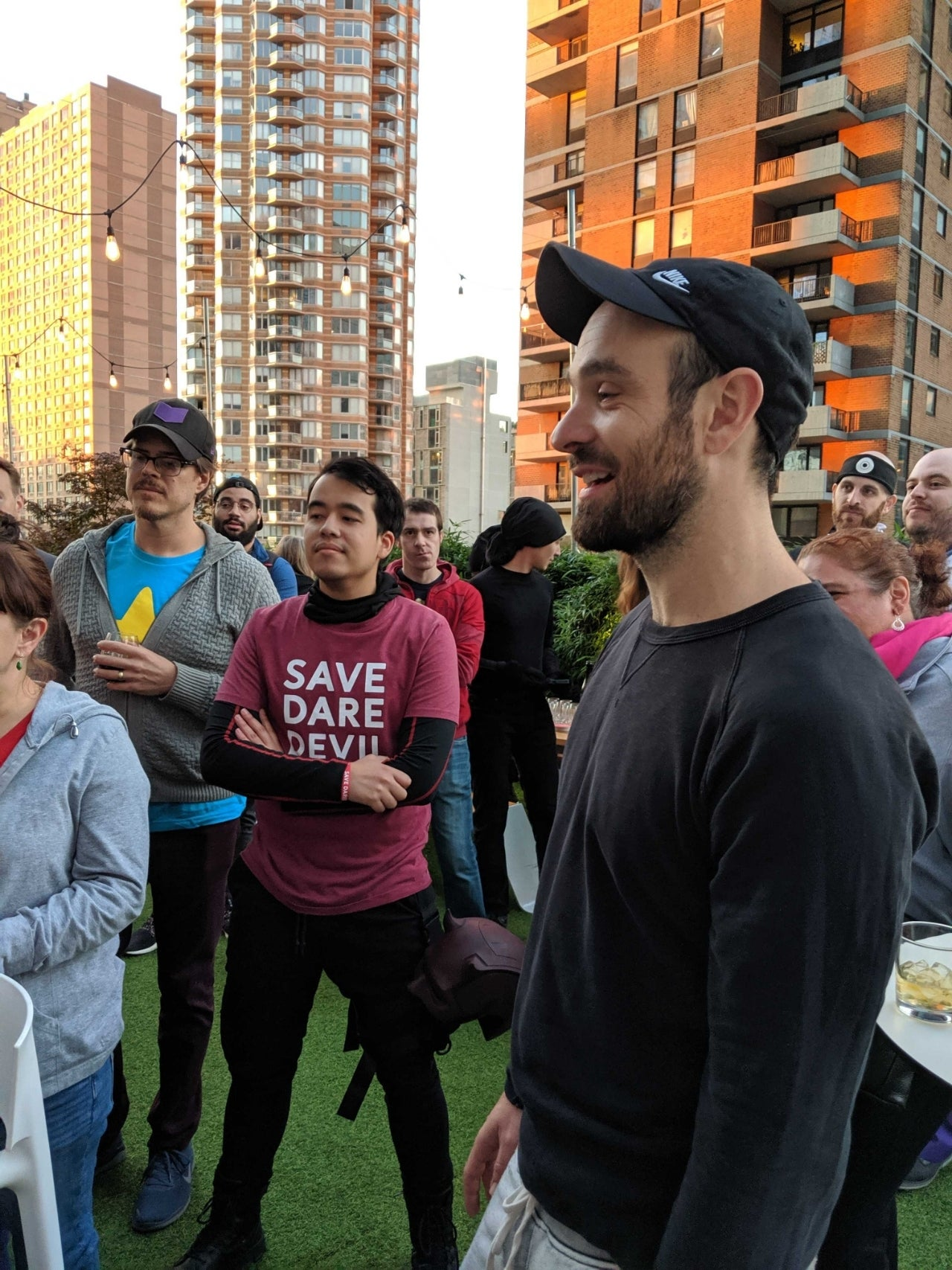 charlie cox save daredevil meetup