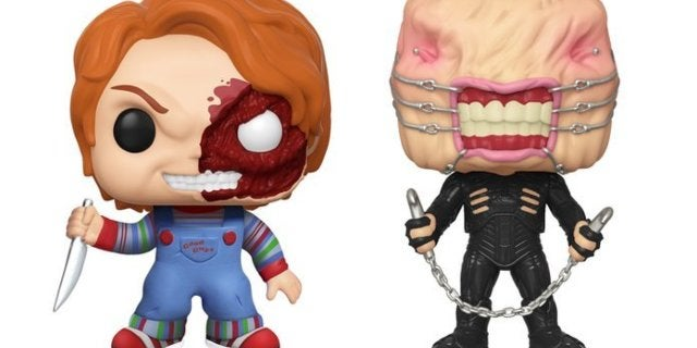 Exclusive Hellraiser Chatterer and Child's Play Chucky Funko Pop Figures Are Available Now