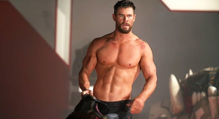 Chris Hemsworth Thor 4 Love and Thunder Workout