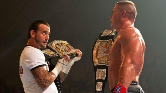 CM-Punk-John-Cena-WWE