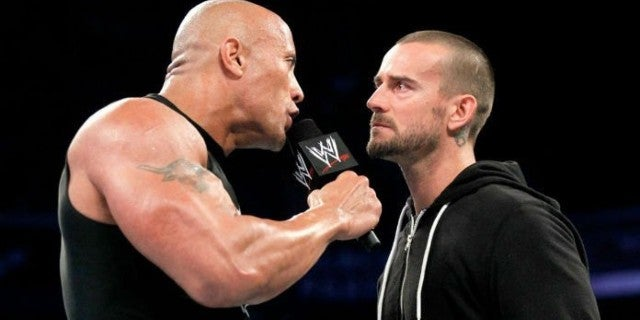CM Punk Dares The Rock to Call Him During WWE SmackDown's FOX Premiere
