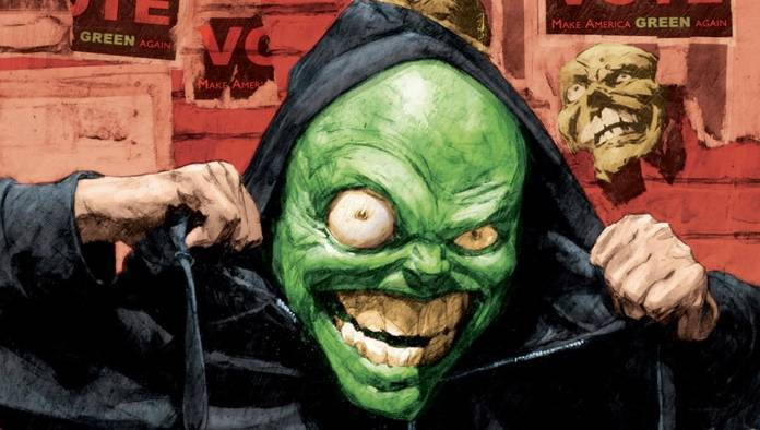 Comic Reviews - I Pledge Allegiance to the Mask #1