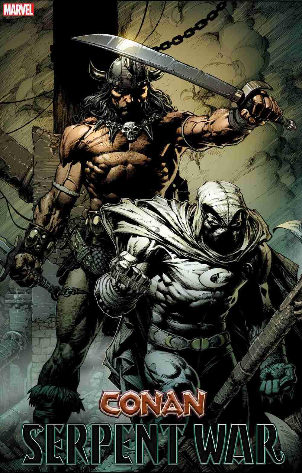 Conan Serpent War David Finch Variant