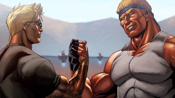 Contra Rogue Corps Motion Comic