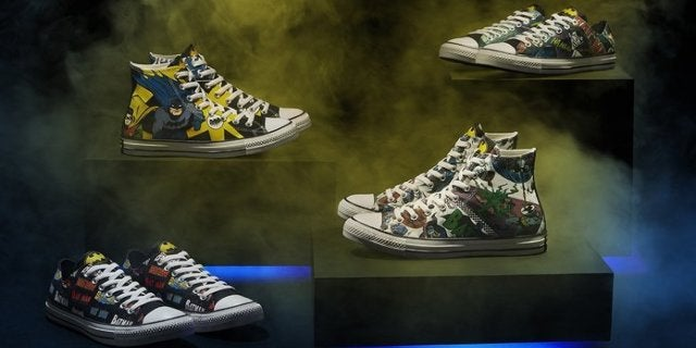 Batman 80th Anniversary Converse Chuck Taylors Are Available Now