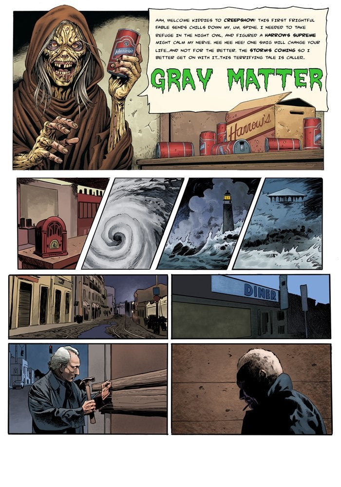 creepshow series Kevin West , Jim Terry _Gray Matter