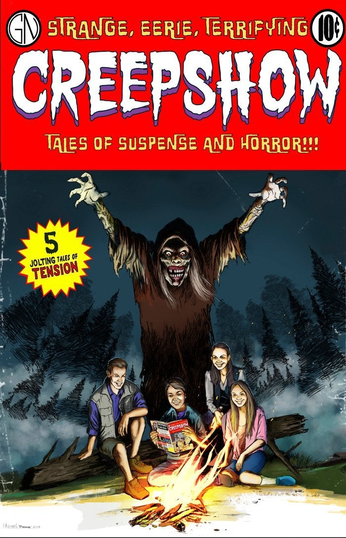 creepshow series Michael Broom
