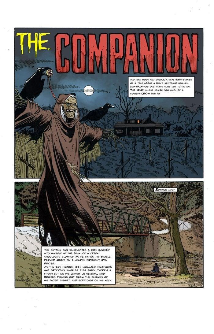 creepshow series Michael Broom_The Companion 2
